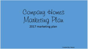 company-marketing-plan
